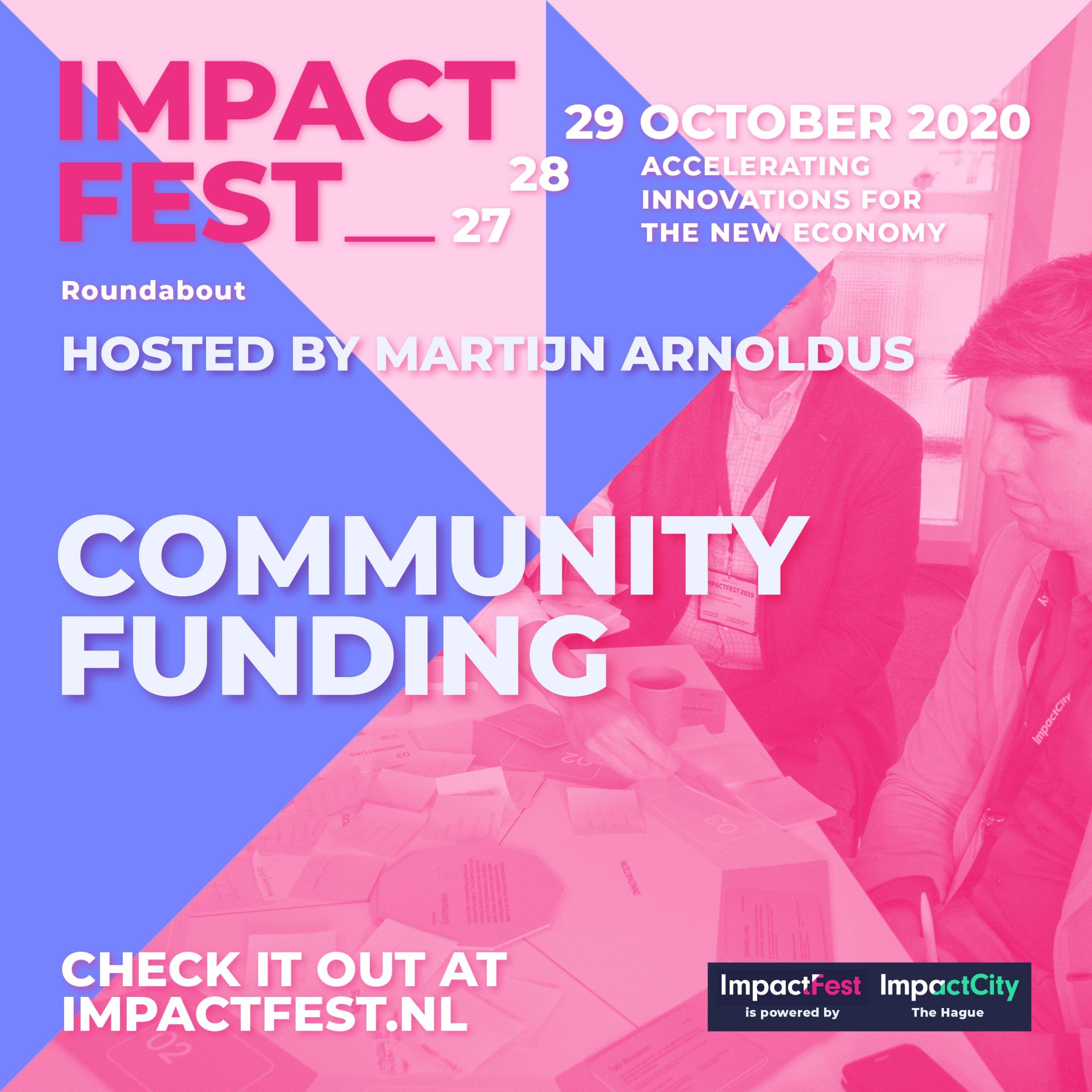 Community Funding at ImpactFest 2020